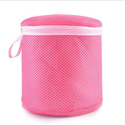 Zipped Wash Bag Laundry Washing Net Mesh Underwear Lingerie Bra Clothes Socks