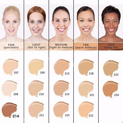 Dermacol Waterproof High Covering Conceal Make up Foundation Film Studio Cover~