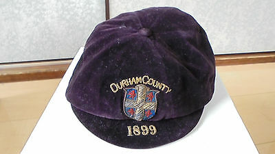 Durham County Rugby Honours Cap 1899