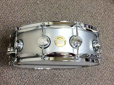 """DW Drum Workshop Collector's Series 14"""" x 5"""" Aluminum Shell Snare Drum -USA Made"""