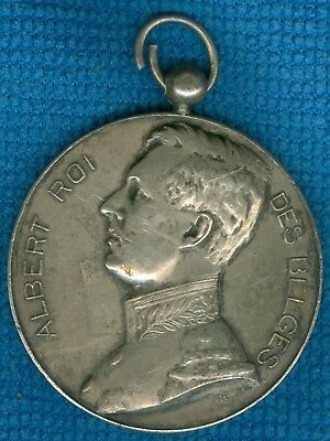 1911 Belgium Medal for the Horticultural Society of Marchin Exposition, J Metten