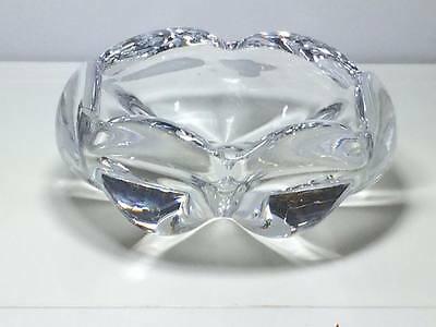 Orrefores signed crystal ashtray