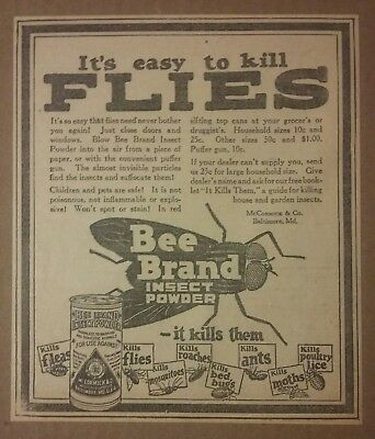 1926 Bee Brand Insect Powder by McCormick & Co