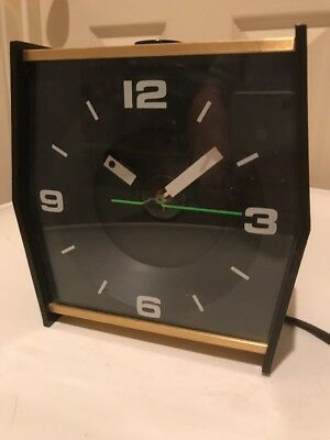 Vtg 60s Stancraft High Time Ceiling Projection Clock Electric Mid Century  Modern