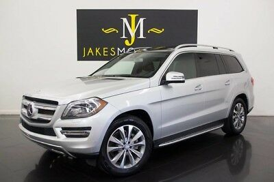 2016 Mercedes-Benz GL-Class 4MATIC ($85K MSRP)...ONLY 1100 MILES! 2016 MERCEDES GL450 4MATIC, $85K MSRP! ONLY 1100 MILES! SILVER/BLACK, PRISTINE!