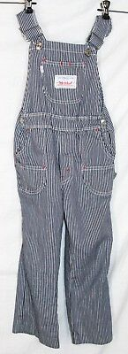 Levi's Big E Vintage childrens overalls stripe engineer Levi Strauss