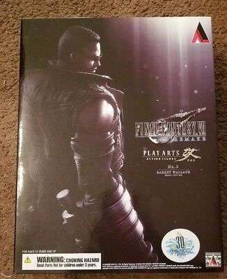 Final Fantasy Vii Remake Play Arts Action Firgure No.2 Barret Wallace