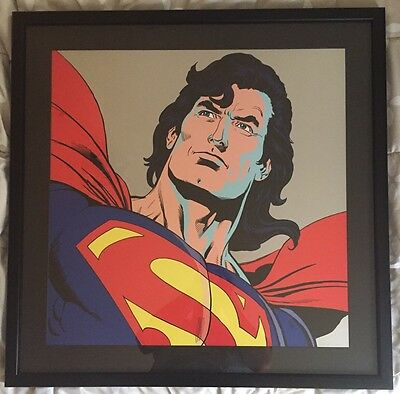 Superman: DC Comics Framed Artist Proof AP35 Warner Bros 1997 RARE!
