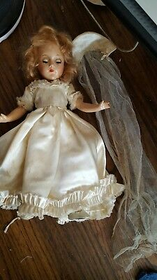 "Vintage 14"" Mary Hoyer Doll Bridge"