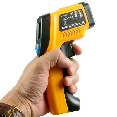 IT100 LCD Temperature Gun Non-contact Infrared IR Laser Digital Thermometer