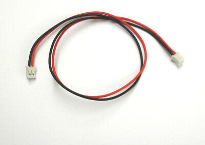 JST PH 2.0mm 2-Pin Battery Female End to End Connector Extension Cable 30cm x 10