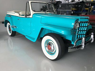 1951 Willys Jeepster 1951 Willys Jeepster - Aqua Blue