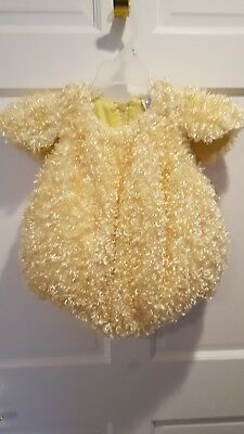 Children's Place Chick Costume size 12 to 18 months
