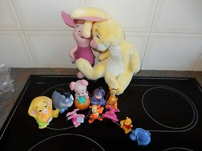 Disney 11 Piece Winnie The Pooh and Friends (Does Not Include Large Piglet)