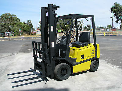 Sumitomo Forklift - 3.5m High 1150kg Capacity Petrol Tipping