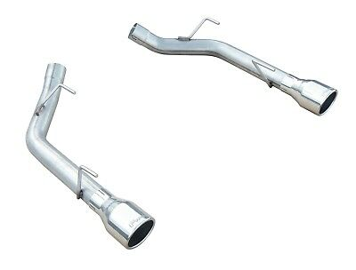 Pypes Performance Exhaust SFM62SS Axle Back Muffler Delete System Fits Mustang