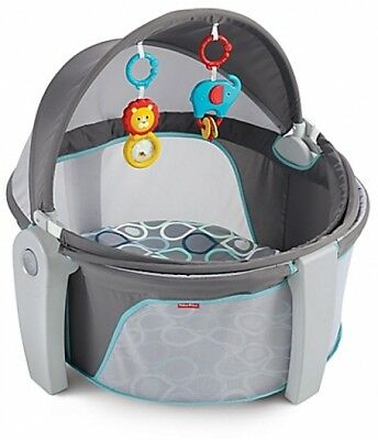 Fisher-Price Bubbles On-the-Go Baby Dome Removable Toys Blocks Sun Outdoors