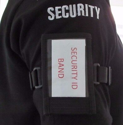 Security ID Card, License Holder Armband, Tactical, Conference, Arm Band