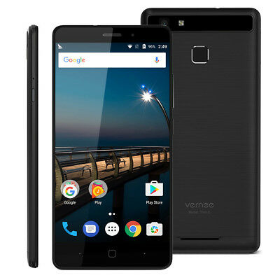 """Vernee Thor E 4G Smartphone 5.0"""" Android7.0 3G+16G Touch Sensor 5020mAh Negro"""