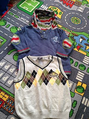 Next🌟 Boys Hooded Top & Tank Top Age 9-12 Months