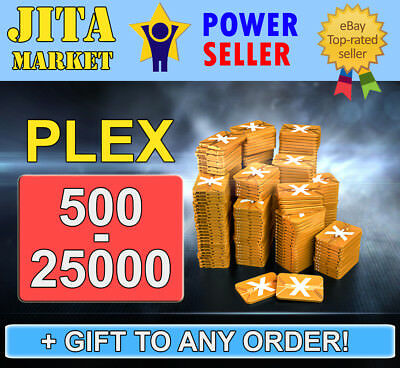 EVE Online PLEX x500 - x25000 Pack | FAST | Absolutely SAFE | Skill Injector ISK