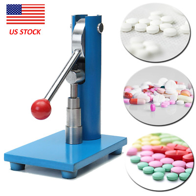 10mm Manual Hnad Punch Tablet Press Making Machine Pill Maker Pressing Lab Use