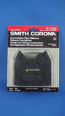 NEW Genuine Smith Corona H 21500 Correctable Film Ribbons 2-Pack High Yield