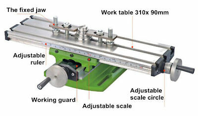 Update 310*90mm Multi-function Cross table For Milling Machine & Lathe