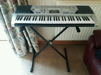 Casio Keyboard Ctk-496 With Stand