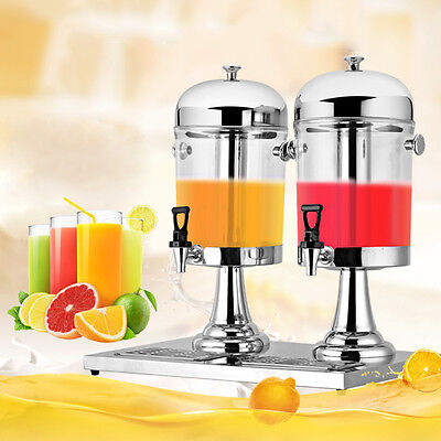 Self-made fruit juice beverage machine 8L*2  520*340*580 mm Hot New Pop