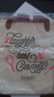 Benefit // Shopper // Canvas // Bag // Laughter is the best cosmetic! // NEU