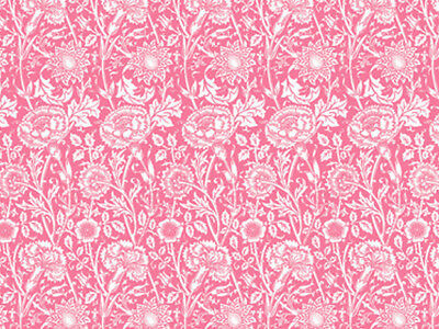 Rose Scented Drawer Liners - William Morris Pinks & Rose Design