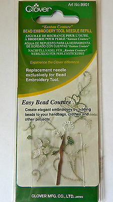 Kantan Couture Bead Embroidery Tool needle refill by Clover