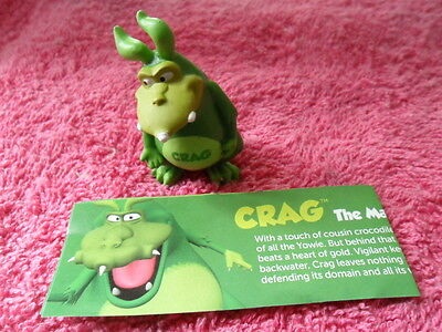 Yowie Yowies US Series 2 * BRAND NEW, * CRAG * + PAPERS