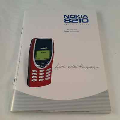 Nokia 8210 Mobile Phone Owner's Guide Instruction Manual