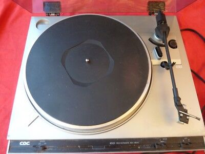 CDC MODEL 8001 RECORD PLAYER.  Unsure of working condition.