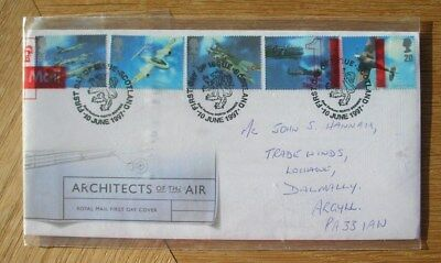 ARCHITECTS OF THE AIR - ROYAL MAIL 1st DAY COMMEMORATIVE COVER 1997