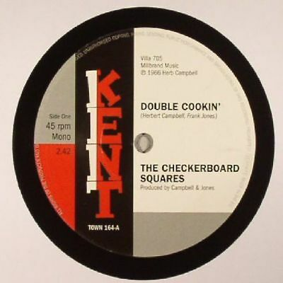 """CHECKERBOARD SQUARES, The/THE TANDELS - Double Cookin' - Vinyl (7"""")"""