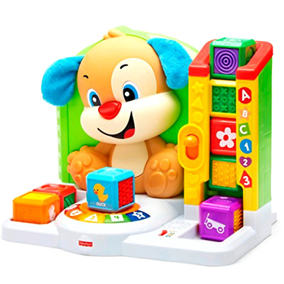 Fisher-Price Laugh & Learn First Words Smart Puppy Toy Blocks