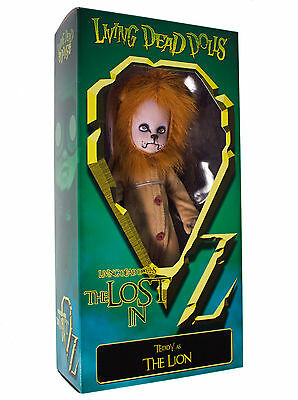 Mezco Living Dead Dolls The Verloren In Oz The Lion Figur Horror Neu Neu