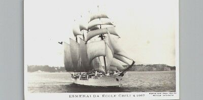 Chile - Ship Esmeralda postcard (2965)