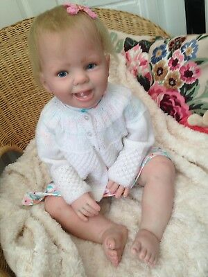 REALISTIC REBORN BABY Olivia from Donna Rubert's Ladybug