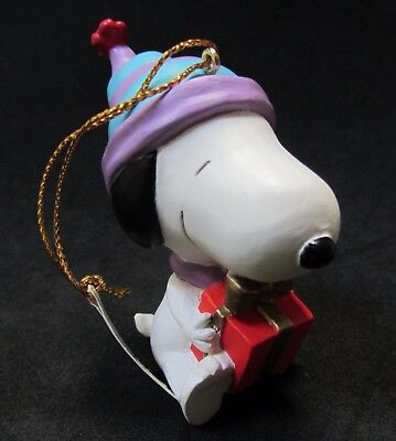 Snoopy Peanuts Gang Christmas Ornament Holidays 1992 Willitts NEW Boxed