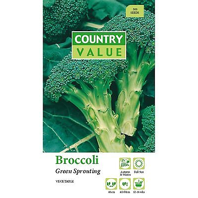 Broccoli Green Sprouting.vegetable Seeds,Plants Seeds,gardens Seeds,easy To Grow