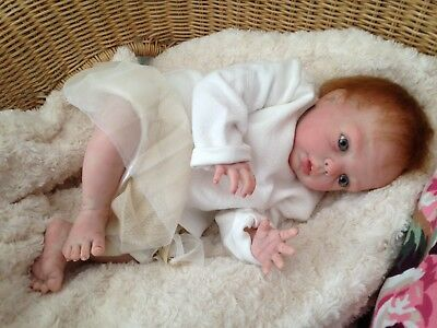 REALISTIC REBORN BABY Aiyda from Donna rubert's Gracie