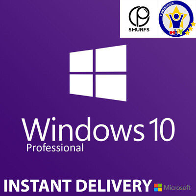 Windows 10 Pro 32/64bit Digital Download Licence Key INSTANT DELIVERY