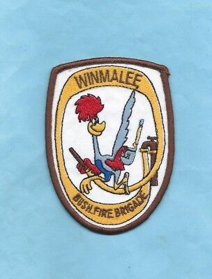 (Very Rare) WINMALEE BUSHFIRE BRIGADE Patch (New South Wales)