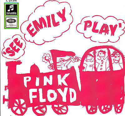 """7"""" PINK FLOYD see emily play RECORD STORE DAY 2013 pink coloured vinyl 45 RSD"""