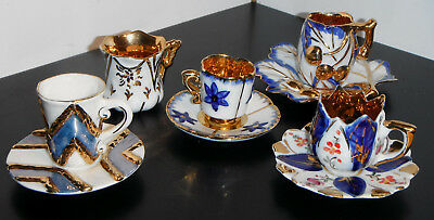 Pintado a Mao and others Hand Painted Miniature Cup & Saucer Sets - Portugal