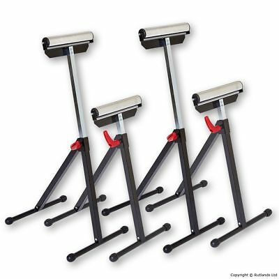 Workshop Roller Stands - Pack of 4